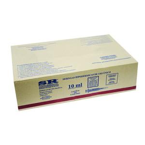 Caixa Seringa desc. 10ml c/ag slip