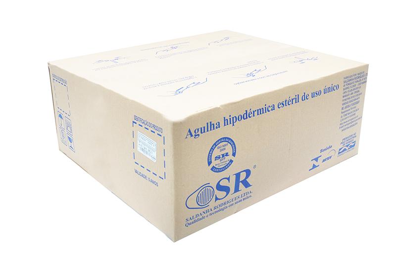 Agulha descartável 25 x 7 – Caixa c/5.000 und – SR