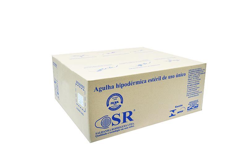 Agulha descartável 13 x 4,5 – Caixa c/ 5.000 und – SR